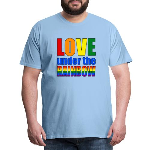 Love under the rainbow - Men's Premium T-Shirt