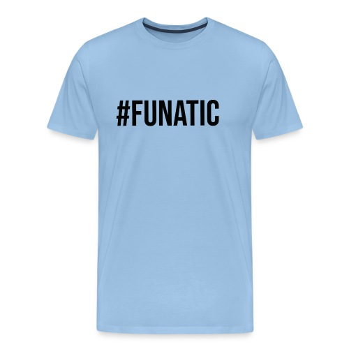 funatic logo - Men's Premium T-Shirt