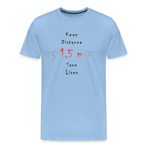 Fight COVID-19 #6 - Männer Premium T-Shirt