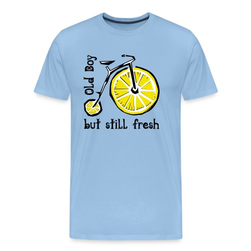 OLD BOY BUT STILL FRESH Textiles and Gifts - Miesten premium t-paita