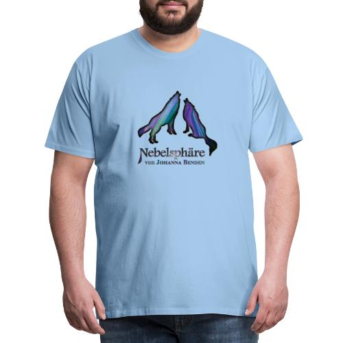 Wölfe Bunt - Männer Premium T-Shirt