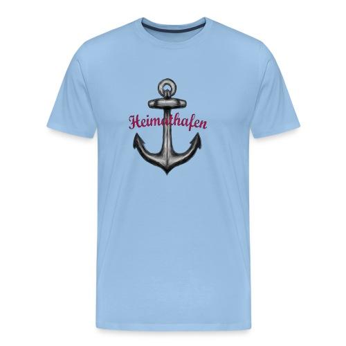 anker heimathafen - Männer Premium T-Shirt