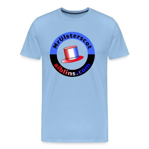 MrUlsterscot, Aiblins.com Logo - Men's Premium T-Shirt