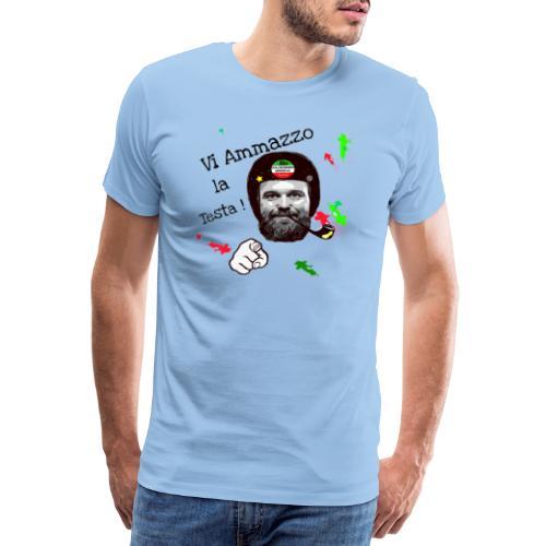 Vi ammazzo la testa - Maglietta Premium da uomo