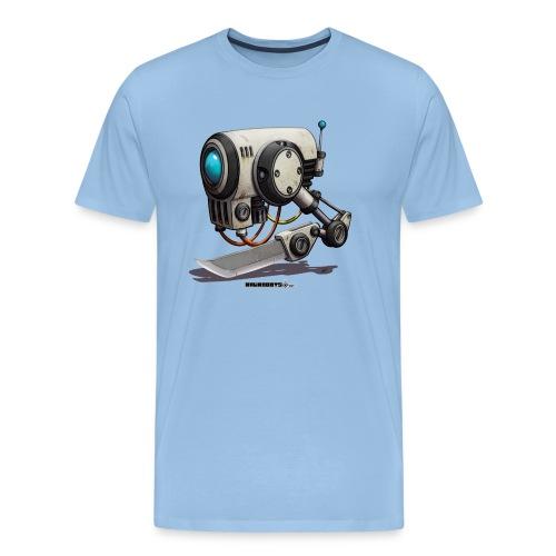 The C.H.O.P. Robot! (Cut Hard Object Precise) - Herre premium T-shirt