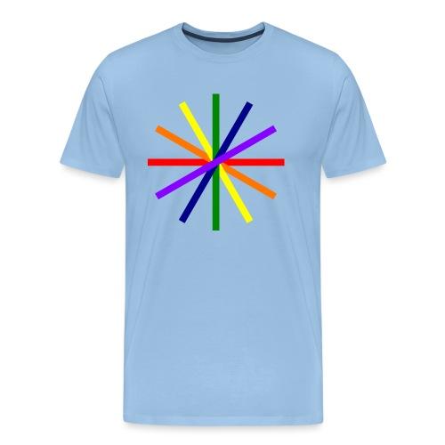 Glücksrad 21.1 - Männer Premium T-Shirt