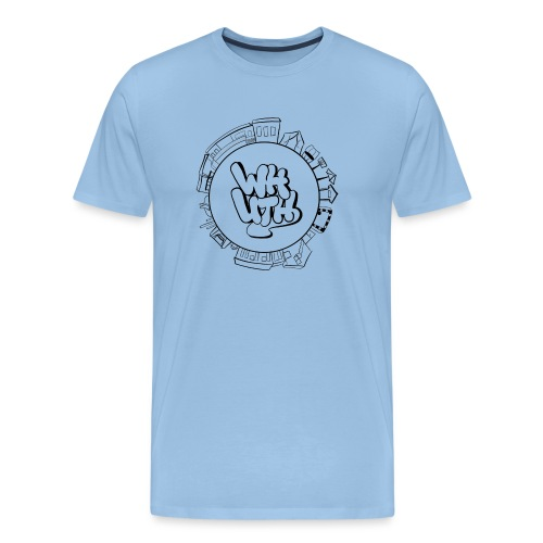 Waldheim Logo (rebranding 2021 by Vivi J.) - Männer Premium T-Shirt