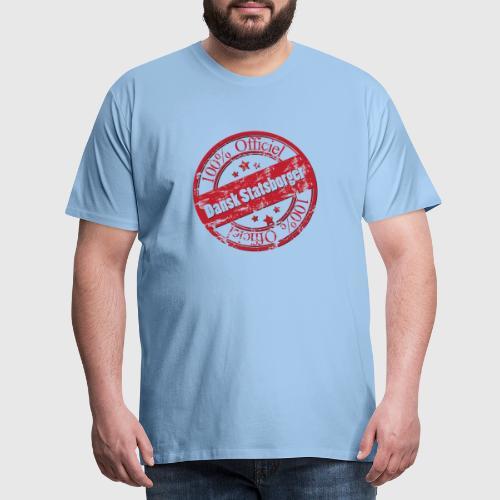 OFFICIAL DANE a png - Herre premium T-shirt