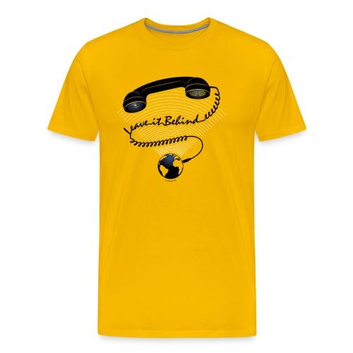 Leave It Behind - Herre premium T-shirt
