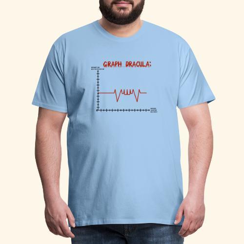 Graph Dracula - Männer Premium T-Shirt