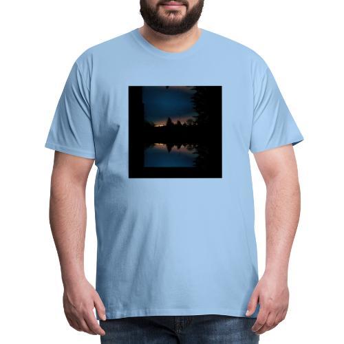 Gott ist gut - Sonnenhorizont Spiegelung Berliner - Männer Premium T-Shirt