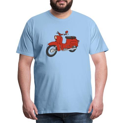 Schwalbe (ibizarot) - Männer Premium T-Shirt