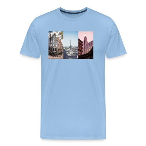 Amsterdam Paris London - Männer Premium T-Shirt