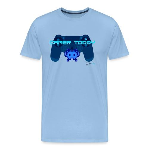 GAMERTODDY (blau) - Männer Premium T-Shirt