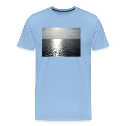 evening sun helsinki 2012 5550-MCAA - Premium-T-shirt herr