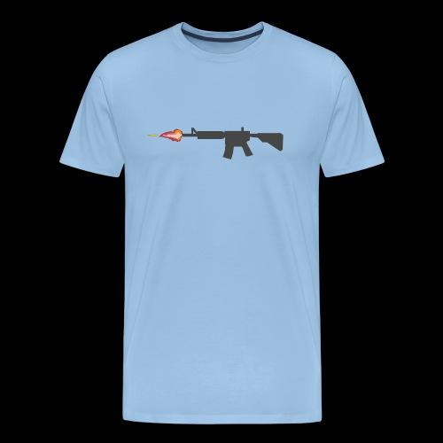 csgo M4A4 - Premium-T-shirt herr
