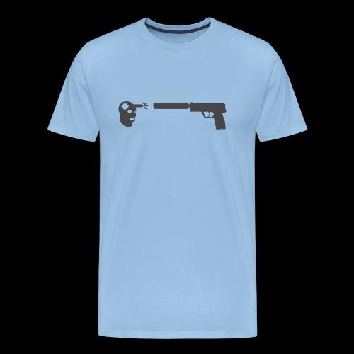 csgo usp headshot - Premium-T-shirt herr