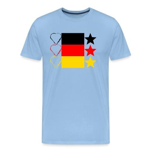 Liebe Deine Stars - Männer Premium T-Shirt
