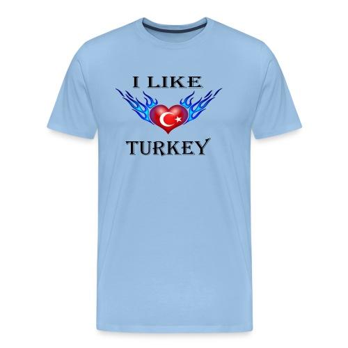 I Like Turkey - Männer Premium T-Shirt