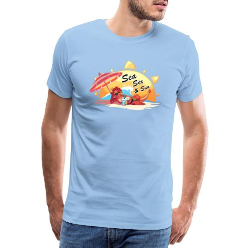 Sea, sex and sun - T-shirt Premium Homme