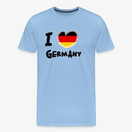 I Love Germany!!! - Männer Premium T-Shirt