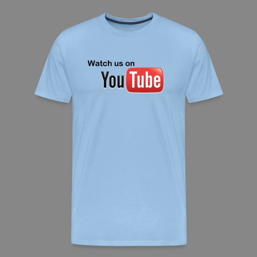youtube hd logo by marcosrstone d37ot4e png - Mannen Premium T-shirt