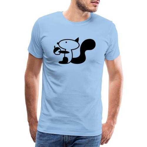 squirrelbw - Mannen Premium T-shirt