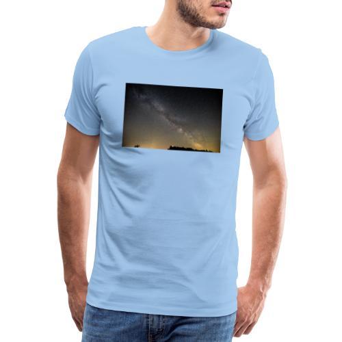 Milchstraße - Männer Premium T-Shirt