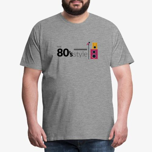 80s - Camiseta premium hombre