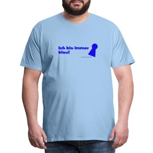 blau poeppel - Männer Premium T-Shirt