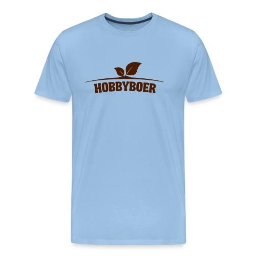 Hobbyboer - Mannen Premium T-shirt