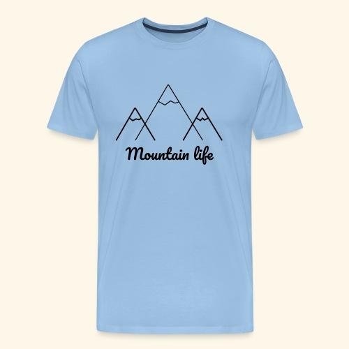 logo montagne 2 - T-shirt Premium Homme