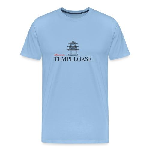 Tempeloase - Männer Premium T-Shirt