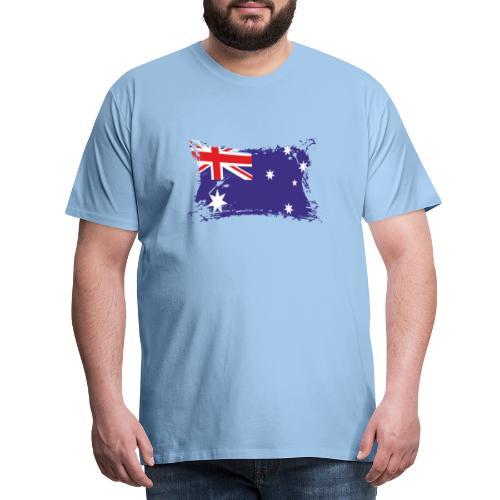 Australian Flag / Flagge Australien / Australia - Männer Premium T-Shirt