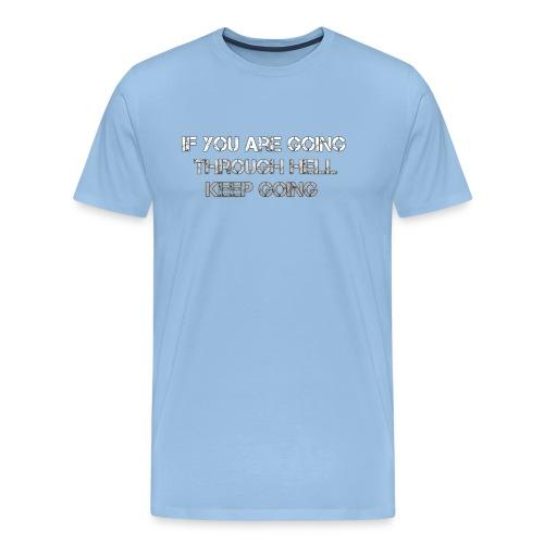 HELL png - Mannen Premium T-shirt