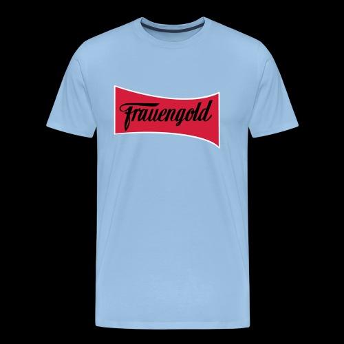 Frauengold 3col - Männer Premium T-Shirt