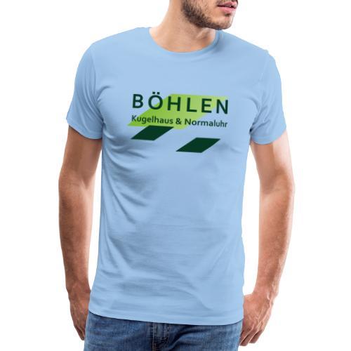 Böhlen ist einzigartig. - Männer Premium T-Shirt