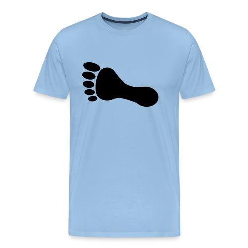 foot_vector_by_sarah_smal - Premium-T-shirt herr