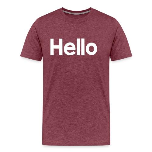 Hello#2 - Männer Premium T-Shirt