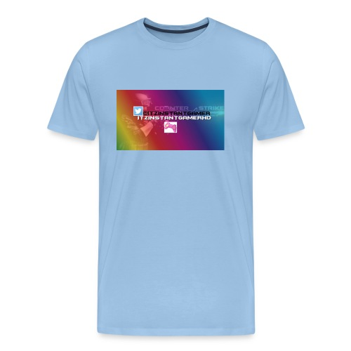 CHANNEL ART jpg - Men's Premium T-Shirt