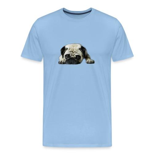 Cute pugs - Camiseta premium hombre