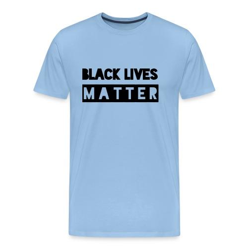 Black Lives Matter - Mannen Premium T-shirt