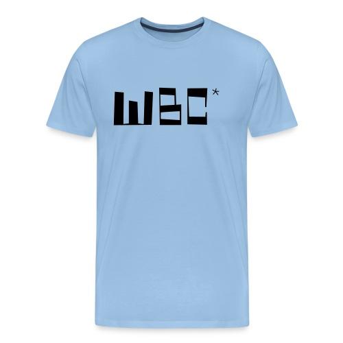 wbc2 simplex - Premium T-skjorte for menn