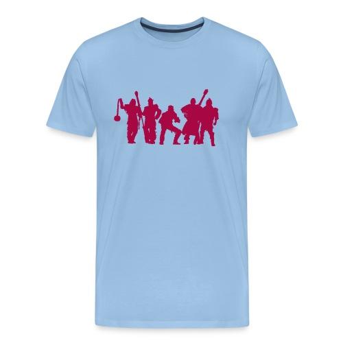Jugger Schattenspieler rot - Männer Premium T-Shirt