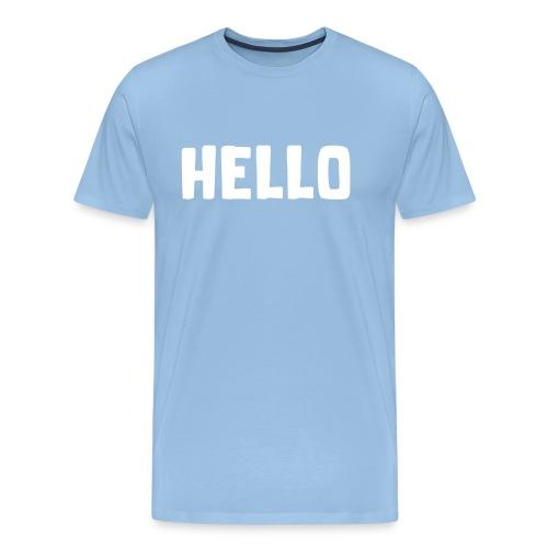 Hello #1 - Männer Premium T-Shirt