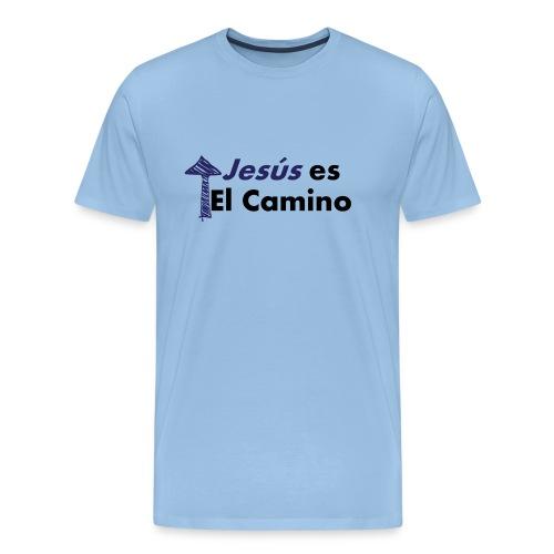 jesus el camino - Camiseta premium hombre