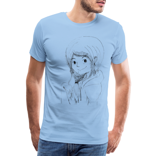 Manga Girlie - Men's Premium T-Shirt