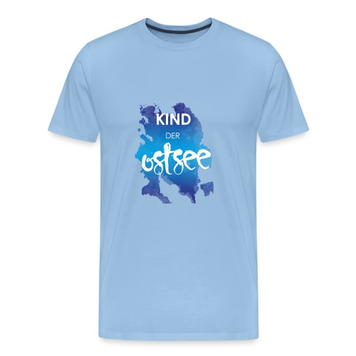 Kind der Ostsee - Männer Premium T-Shirt