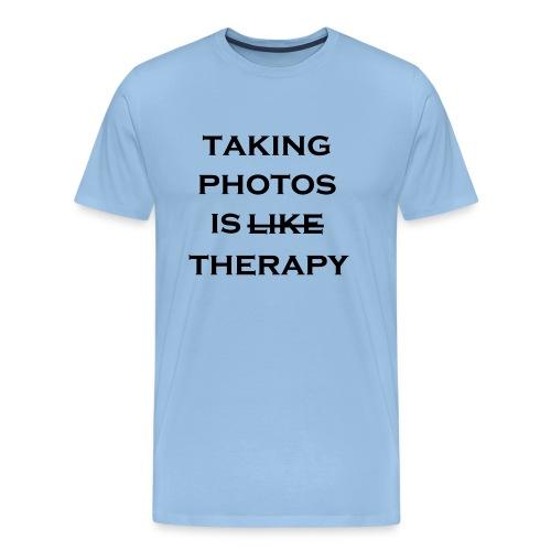 photo therapy - Herre premium T-shirt