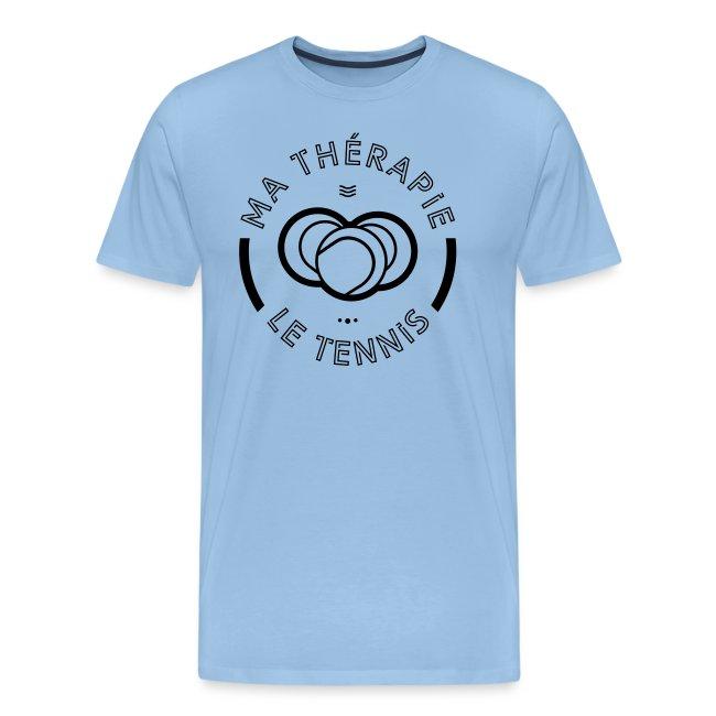Le tennis ma thérapie